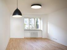 Tom lägenhet för ny design arkivbild