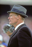 Tom Landry. Dallas Cowboys legendary head coach Tom Landry.  (image taken from color slide Stock Images