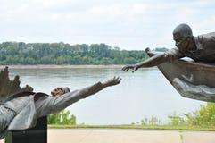 Tom Lee Memorial, Memphis Tennessee lizenzfreie stockbilder