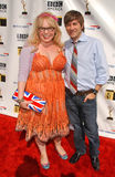 Tom Lenk, Kirsten Vangsness Royalty Free Stock Photo