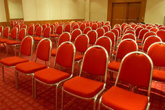 tom lokal för konferens Royaltyfri Fotografi