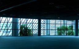 tom lokal för konferens Arkivbild