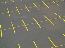 tom lottparkering Fotografering för Bildbyråer