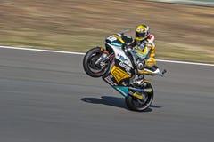 Tom Luethi, MOTOGP Brno 2015 Stockbild