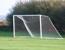 tom målfotboll Fotografering för Bildbyråer