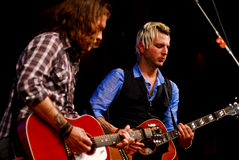 Tom and Mike Gossin of Gloriana Royalty Free Stock Images