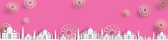 Tom moskétextbakgrund, modern elegant islamisk design royaltyfri illustrationer