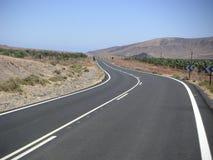 tom motorväg Arkivbild