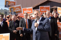 Tom Mulcair gives Speech on PEI Stock Images