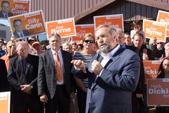 Tom (Thomas) Mulcair gives Speech on PEI Stock Photo