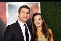 Tom Murro and Celine Buckens Royalty Free Stock Image