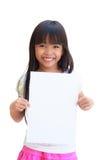 tom paper white Arkivbild