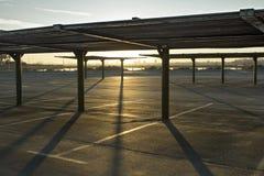 tom park för bil Fotografering för Bildbyråer