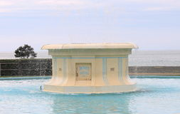 Tom Parker Fountain, Napier, Nouvelle-Zélande Photographie stock libre de droits