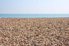 tom pebble för strand arkivbild