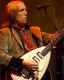 Tom Petty a colore rosso oscilla il Amphitheatre Immagini Stock