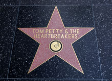 Tom Petty & the Heartbreakers star Stock Photos