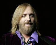 Tom Petty Performs di concerto fotografie stock libere da diritti