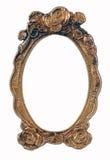 tom pläterad smyckad bild för ram guld Royaltyfri Fotografi