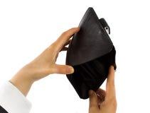 tom plånbok Royaltyfria Foton