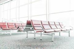 Tom plats i flygplatsen Arkivfoto