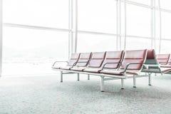 Tom plats i flygplatsen Arkivbild
