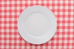 tom platta för matställe Royaltyfri Foto