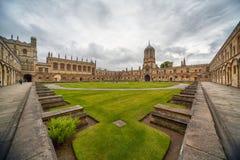 Tom Quad Universidad de Oxford inglaterra fotografía de archivo