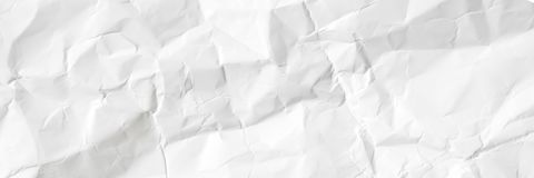 Tom rynkig vitbok Begrepp för designen för tapet för banersida, grå texturbakgrund royaltyfri foto
