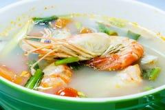 Tom sötpotatis Kung (thailändsk kokkonst) Arkivbild
