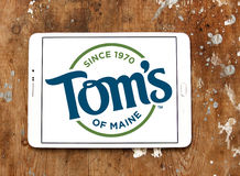 Tom`s of Maine logo Stock Images