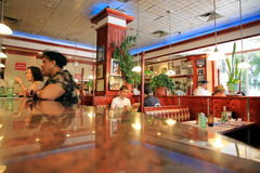 Tom's Restaurant Stock Image
