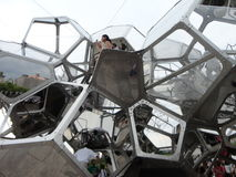 Tomás Saraceno on the Roof: Cloud City 3 Stock Photos