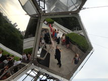 Tomás Saraceno on the Roof: Cloud City 4 Royalty Free Stock Photography
