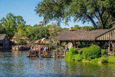 Tom Sawyer Island, Disney-Welt Stockfotos