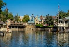 Tom Sawyer Island, mundo de Disney imagenes de archivo