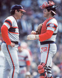 Tom Seaver and Carlton Fisk Stock Photos