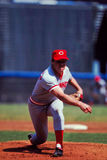 Tom Seaver Cincinnati Reds. Former Cincinnati Reds Hall of Fame pitcher Tom Seaver. (Image taken from color slide Stock Photography