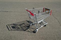 Tom shoppingvagn Royaltyfria Foton