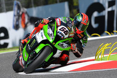 Tom Sikes SBK Imola 2015 Stock Images