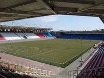 tom stadion Royaltyfria Foton