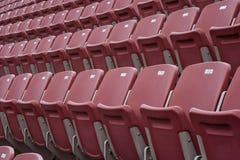 Tom stadion för sporthändelse Arkivbild