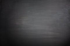 Tom svart svart tavla Arkivbild