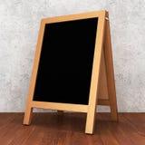 Tom svart tavla för meny vektor illustrationer