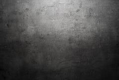 Tom svart textur för konkret yttersida Arkivbild