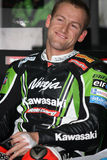 Tom Sykes - Kawasaki ZX-10R Racing Team Royalty Free Stock Images