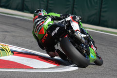 Tom Sykes - Kawasaki ZX-10R Racing Team. Tom Sykes rider Kawasaki ZX-10R with Kawasaki Racing Team in the world Superbike Championship SBK Stock Photo