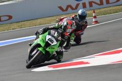 Tom Sykes - Kawasaki ZX-10R Racing Team Royalty Free Stock Image