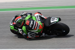 Tom Sykes - Kawasaki ZX-10R Racing Team Royalty Free Stock Images