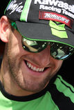 Tom Sykes #66 on Kawasaki ZX-10R Kawasaki Racing Team Superbike WSBK Royalty Free Stock Photography